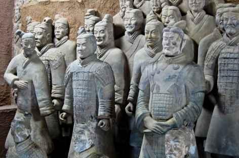 Xi'an, l'armée de terre cuite - Chine -