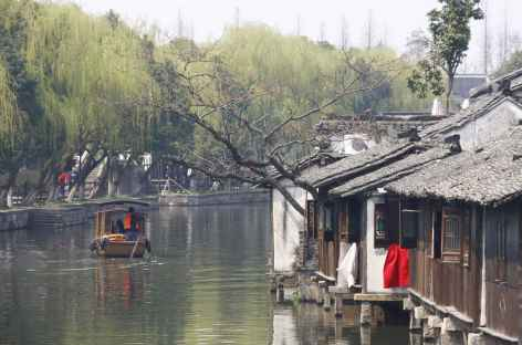 Canaux à Wuzhen- Chine -