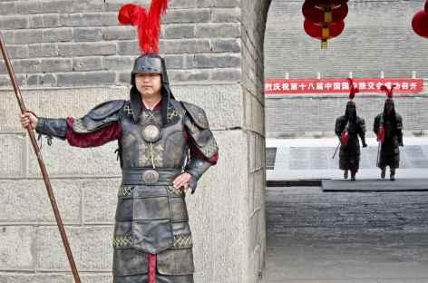 Gardien à Xi'An  - Chine -