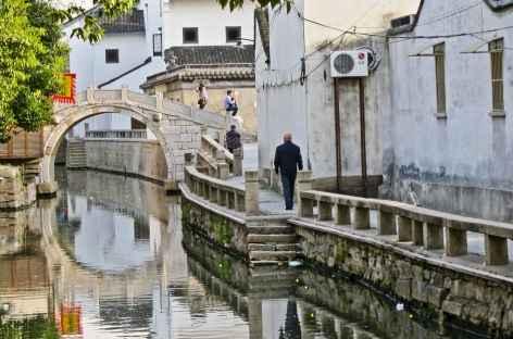 Ambiance lacustre à Suzhou - Chine -