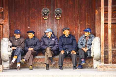 Discussion entre amis - Chine -