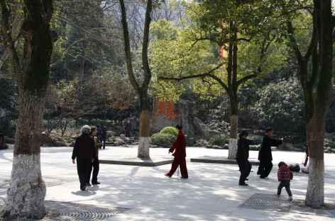 Tai Chi dans les parcs de Hangzhou - Chine -