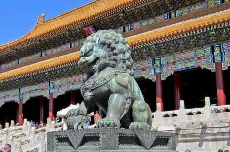 Gardien de pierre Pékin - Chine -