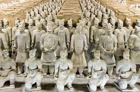 Armée de terre cuite, Xi'An  - Chine -