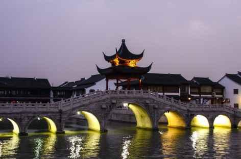 Dans le vieux Suzhou - Chine -