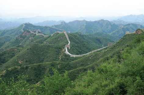 Sur la Grande Muraille - Chine -