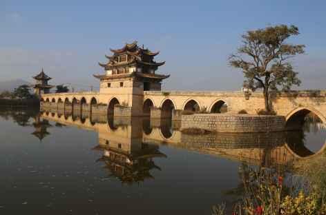 Le pont des deux dragons Yunnan -