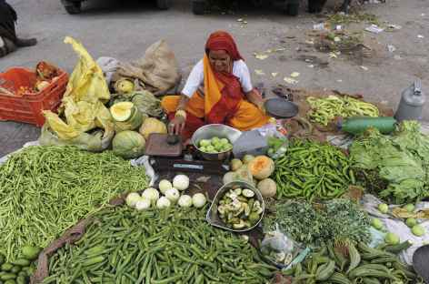 Marché à Pushkar -