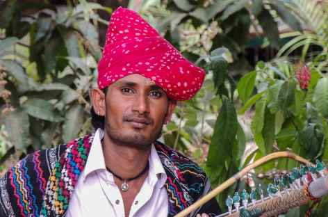 Musicien Rajpout - Rajasthan, Inde -