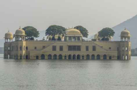 Le Jal Mahal ou Lake Palace, Rajasthan, Inde -