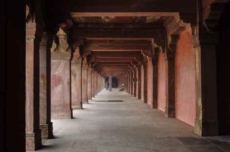 Corridor à Fathepur Sikri - Inde -
