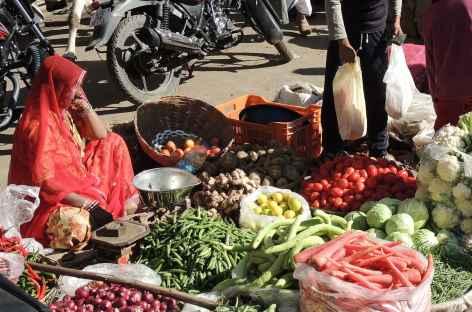 Vendeuses de légumes - Rajasthan, Inde -