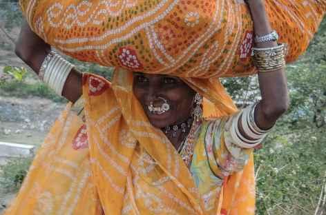 Femme du Rajasthan, Inde -