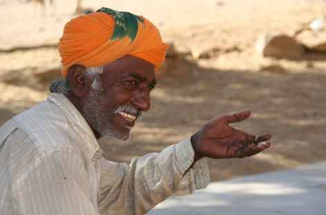 Sourire du Rajasthan, Inde -