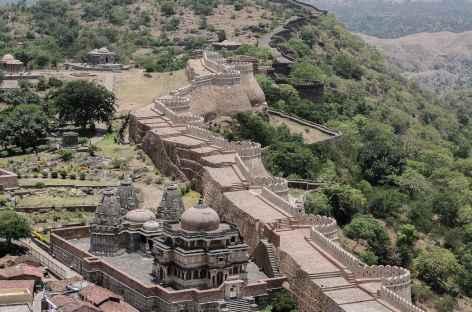 Remparts de Kumbalgarh - Rajasthan, Inde -
