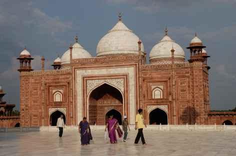 Mosquée au Taj Mahal - Agra - Inde -