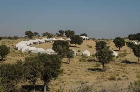 Camp fixe de Manvar - Rajasthan, Inde -