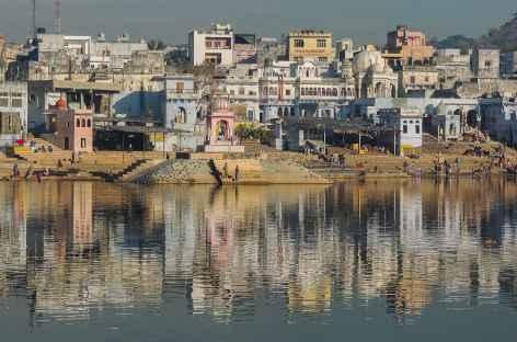 Couleur de Pushkar - Rajasthan, Inde -