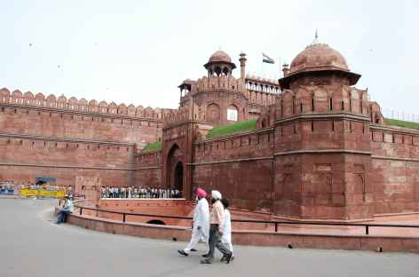 Fort rouge d'Agra - Inde -