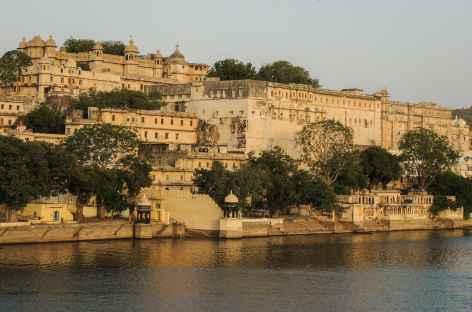Le City Palace à Udaipur, Rajasthan, Inde -