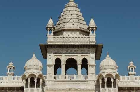 Détail du Jaswant Thada, Rajasthan, Inde -