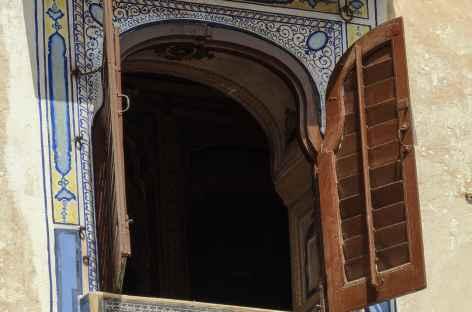 Détail d'architecture dans la vieille ville d'Udaipur, Rajasthan -