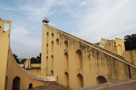 L'observatoire astronomique Jantar Mantar, Rajasthan, Inde -