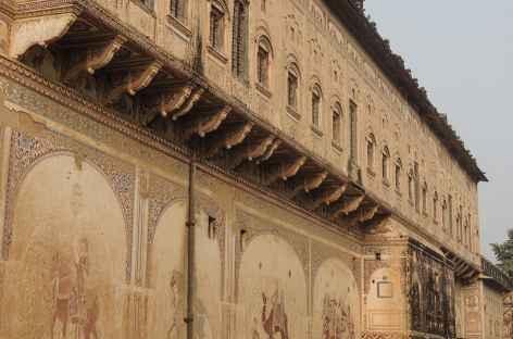 Haveli dans la région d'Alsisar, Rajasthan, Inde -