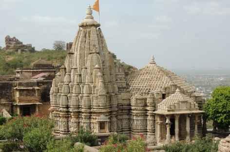 Temple à l'intérieur de la forteresse de Chittorgarh, Rajasthan -