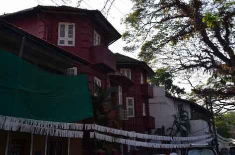 Maisons coloniales de Cochin - Inde -