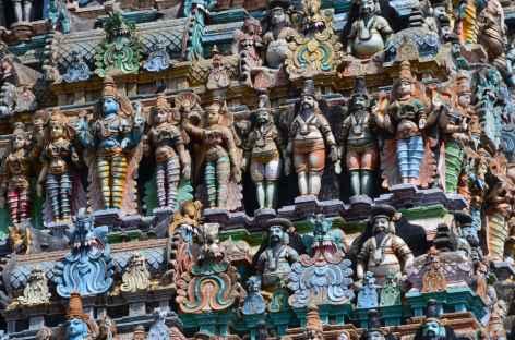 Figurines du temple de Madurai - Inde -
