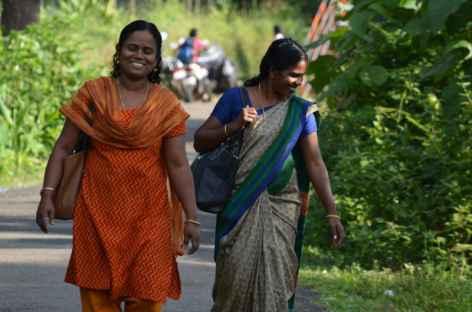 Femmes du Kerala, Inde -