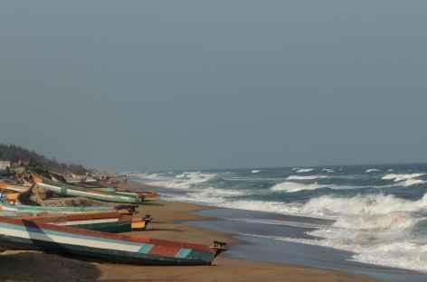 Plage du sud de l'Inde -