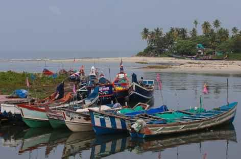 Bateaux de pêcheurs - Inde du sud -