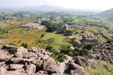 Lavisite du fort de Ginjee, une très belle balade, Inde du Sud -