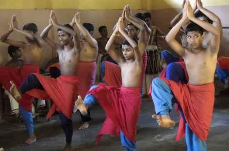Danse Kathakhali de l'Inde du Sud -