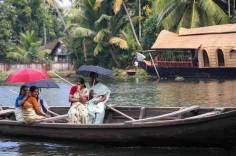 Rencontres dans les backwater, Inde du Sud -