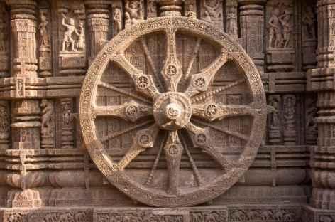 Temple à Bubaneshwar - Orissa, Inde -