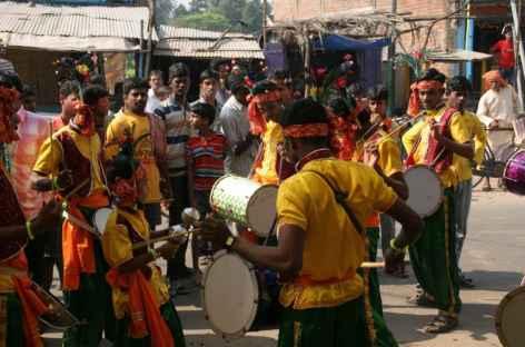 Festivals dans la rue - Orissa, Inde -
