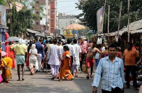 Scène de rue -  Calcutta, Inde -