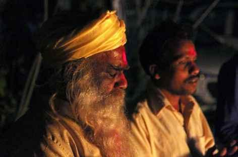 Holika Dahan - Orissa, Inde -