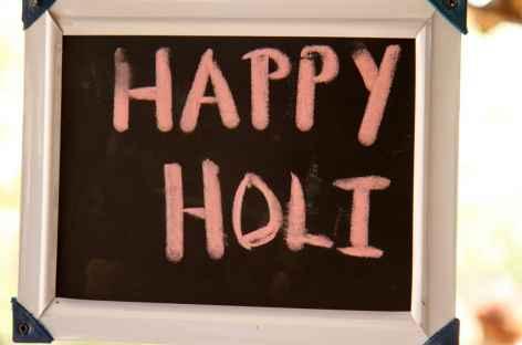 Fête de Holi - Orissa, Inde -