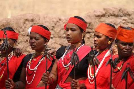 Danse de la corne de bison - Orissa, Inde -