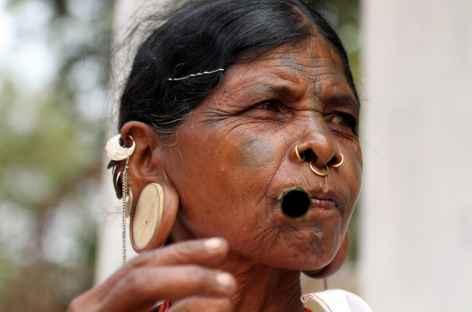 Femme Khonda - Orissa, Inde -