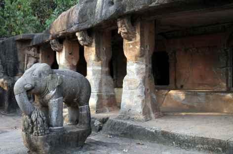 Grottes Jain d'Udayagiri - Orissa, Inde -