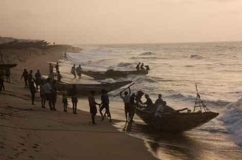Retour de la pêche - Orissa, Inde -