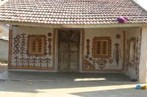 Maison traditionnelle, Gujarat -