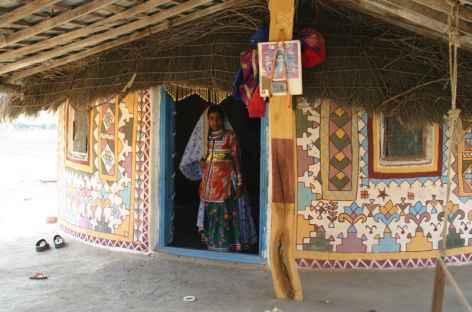 Bhuj, Bhungas d'un village Banni -