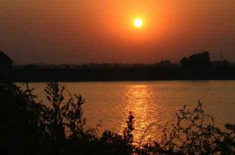Coucher de soleil à Diu -