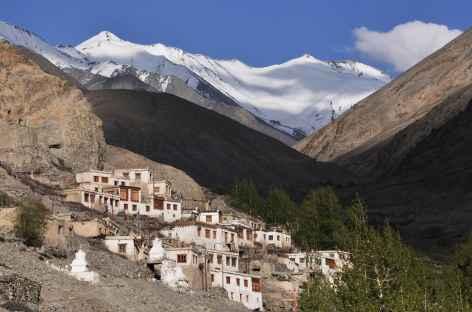 Village de Tanggyar, Nubra, Ladakh - Inde -